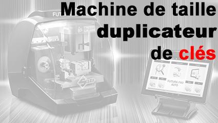 Machine taille clé et duplicateur